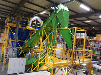 Grass Seeds Belt Conveyor - Bulk Solids Industry - Poeth Solids Processing - Tegelen