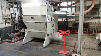 Big-bag compactor - Bulk Solids Industry - Poeth Solids Processing - Tegelen