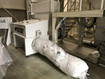Big-Bag Compactor - Bulk Solids Industrie - Poeth Solids Processing - Tegelen
