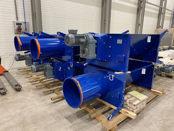Big bag compactor verdichter - Bulk Solids Industrie - Poeth Solids Processing - Tegelen