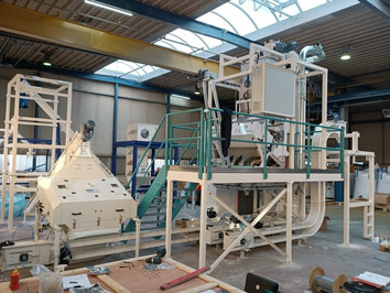 Color sorting PP PE recycling - Bulk Solids Industrie - Poeth Solids Processing - Tegelen