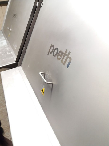 Zakkenstort cabine - Bulk Solids Industrie - Poeth Solids Processing - Tegelen