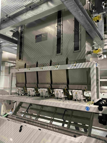 Feeder sorter - Bulk Solids Industrie - Poeth Solids Processing - Tegelen