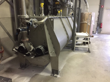 Continue Mixer - Bulk Solids Industrie - Poeth Solids Processing - Tegelen