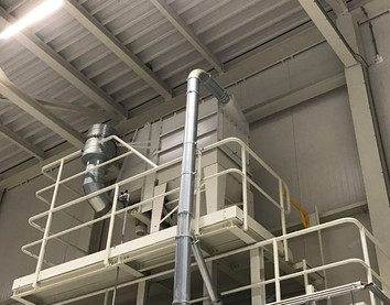 Filter Zakkenvulmachine - Bulk Solids Industrie - Poeth Solids Processing - Tegelen