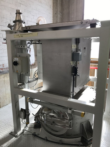 Big-bag losstation voor giftige productie - Bulk Solids Industrie - Poeth Solids Processing - Tegelen