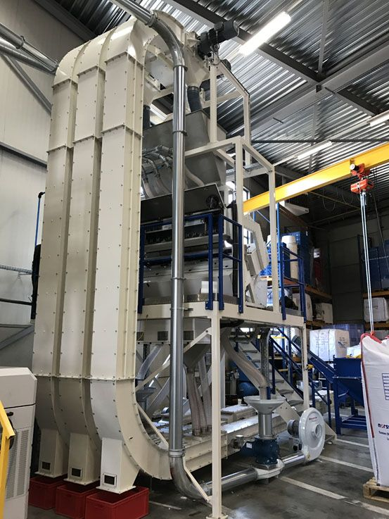 Conveying - Z-Conveyor / Inclined Chain Conveyor - Poeth Solids Processing - Tegelen