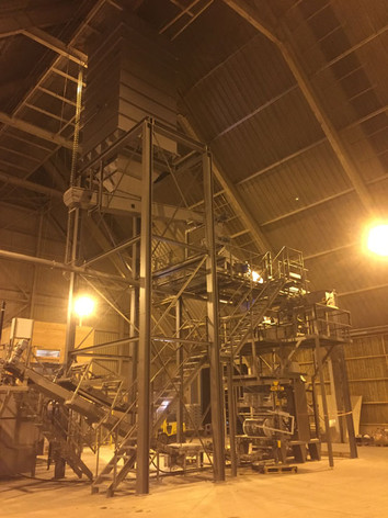 Wood Pellets Turn-Key - Bulk Solids Industry - Poeth Solids Processing - Tegelen