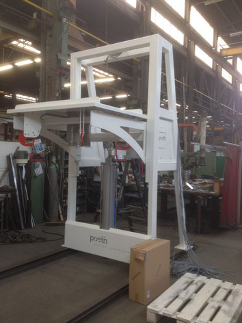 Big-bag Vulstation - Bulk Solids Industrie - Poeth Solids Processing - Tegelen
