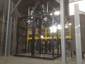 Big-bag Filling - Bulk Solids Industry - Poeth Solids Processing - Tegelen