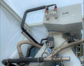 Screw heat exchangers - Bulk Solids Industrie - Poeth Solids Processing - Tegelen