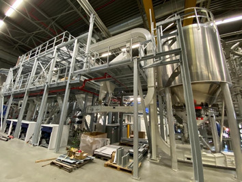 Turnkey projects plastic PE PP recycling - Bulk Solids Industrie - Poeth Solids Processing - Tegelen