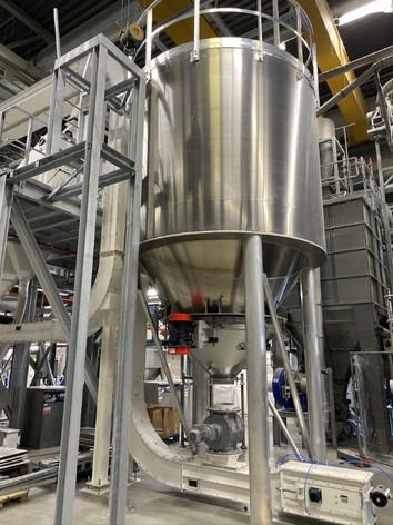 Z- en C-Conveyor - Bulk Solids Industrie - Poeth Solids Processing - Tegelen