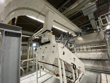 Zeefmachine / sifter plastic recycling - Bulk Solids Industrie - Poeth Solids Processing - Tegelen