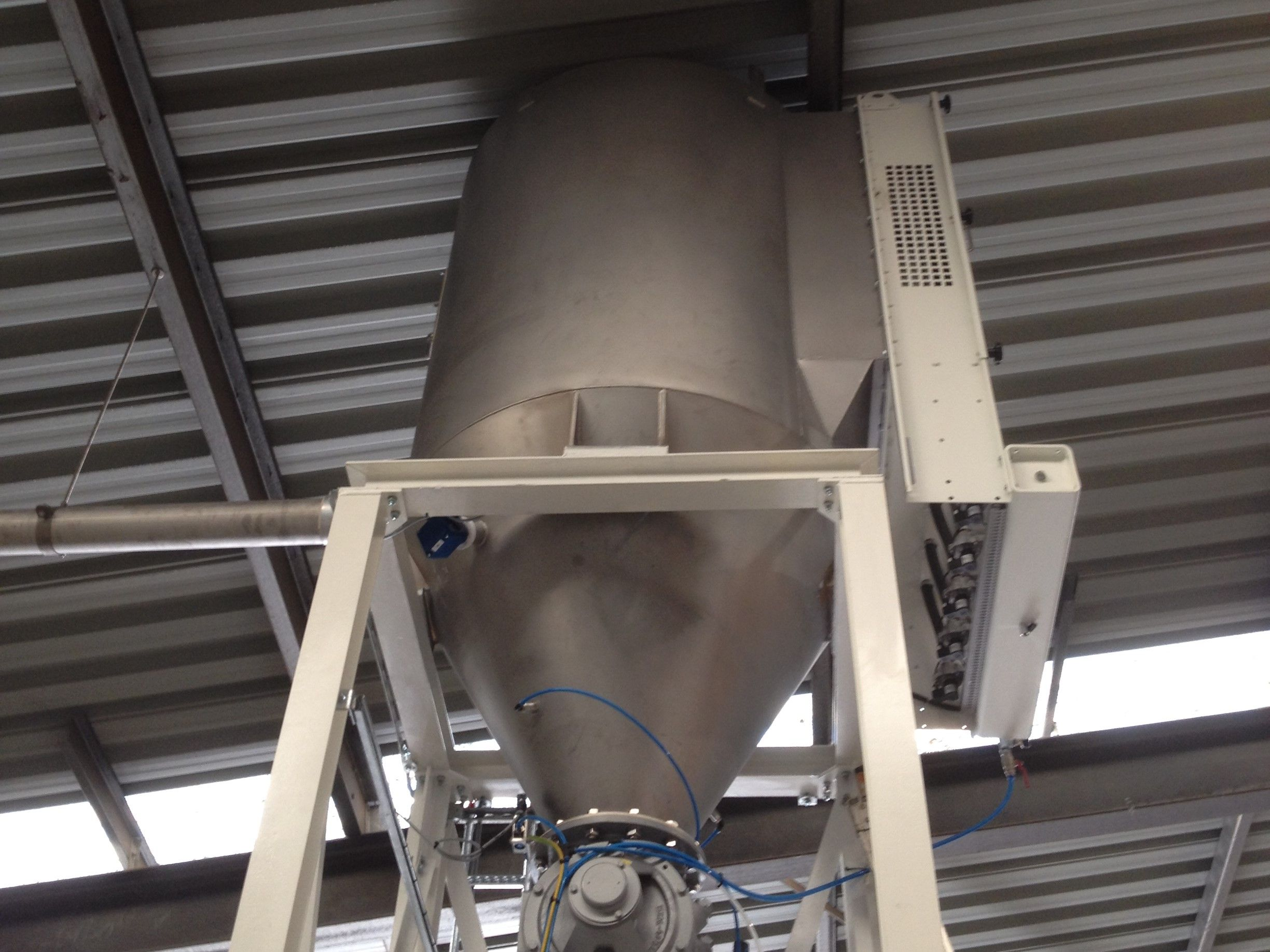 Dustfilters - Recipient Bag-filter - Poeth Solids Processing - Tegelen
