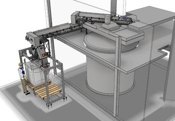 Koelmixer koelschroef - Bulk Solids Industrie - Poeth Solids Processing - Tegelen