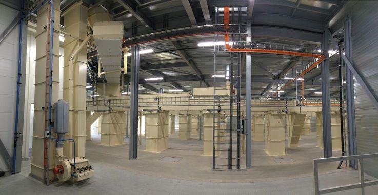 Conveying - Chain Conveyor - Poeth Solids Processing - Tegelen