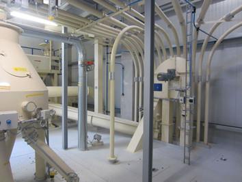 Bloem transport systeem - Feed Veevoerindustrie - Poeth Solids Processing - Tegelen