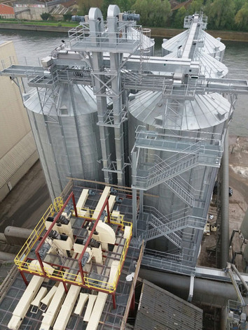Raw materials intake and storage - Feed industry - Poeth Solids Processing - Tegelen