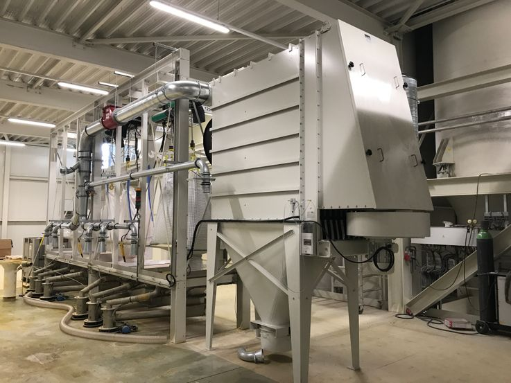 Dustfilters - Compact-unit Filter - Poeth Solids Processing - Tegelen