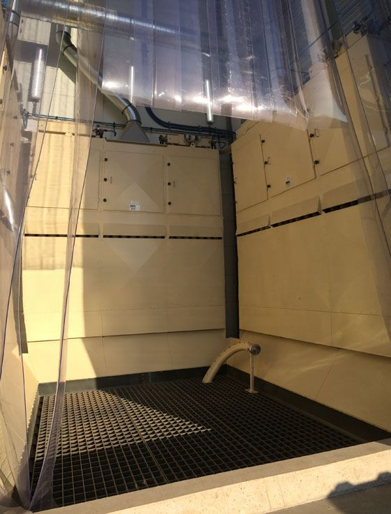Products Intake and Storage - Modular Intake Pit Filter - Poeth Solids Processing - Tegelen