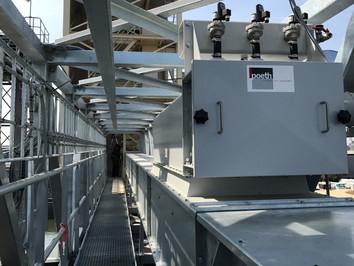 Ketting Transporteur - Feed Veevoerindustrie - Poeth Solids Processing - Tegelen