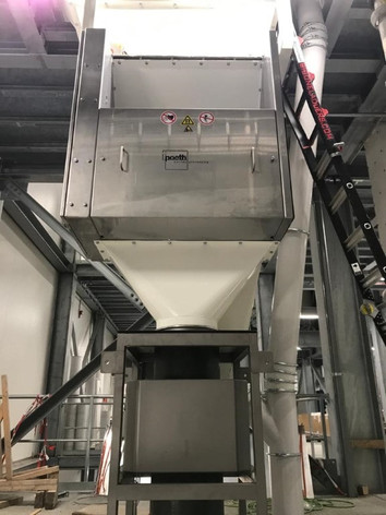 Cascade magneet - Feed Veevoerindustrie - Poeth Solids Processing - Tegelen