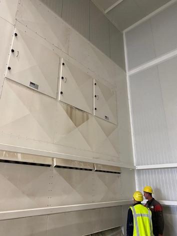 Filter for dumping truck unloading - Feed Veevoerindustrie - Poeth Solids Processing - Tegelen