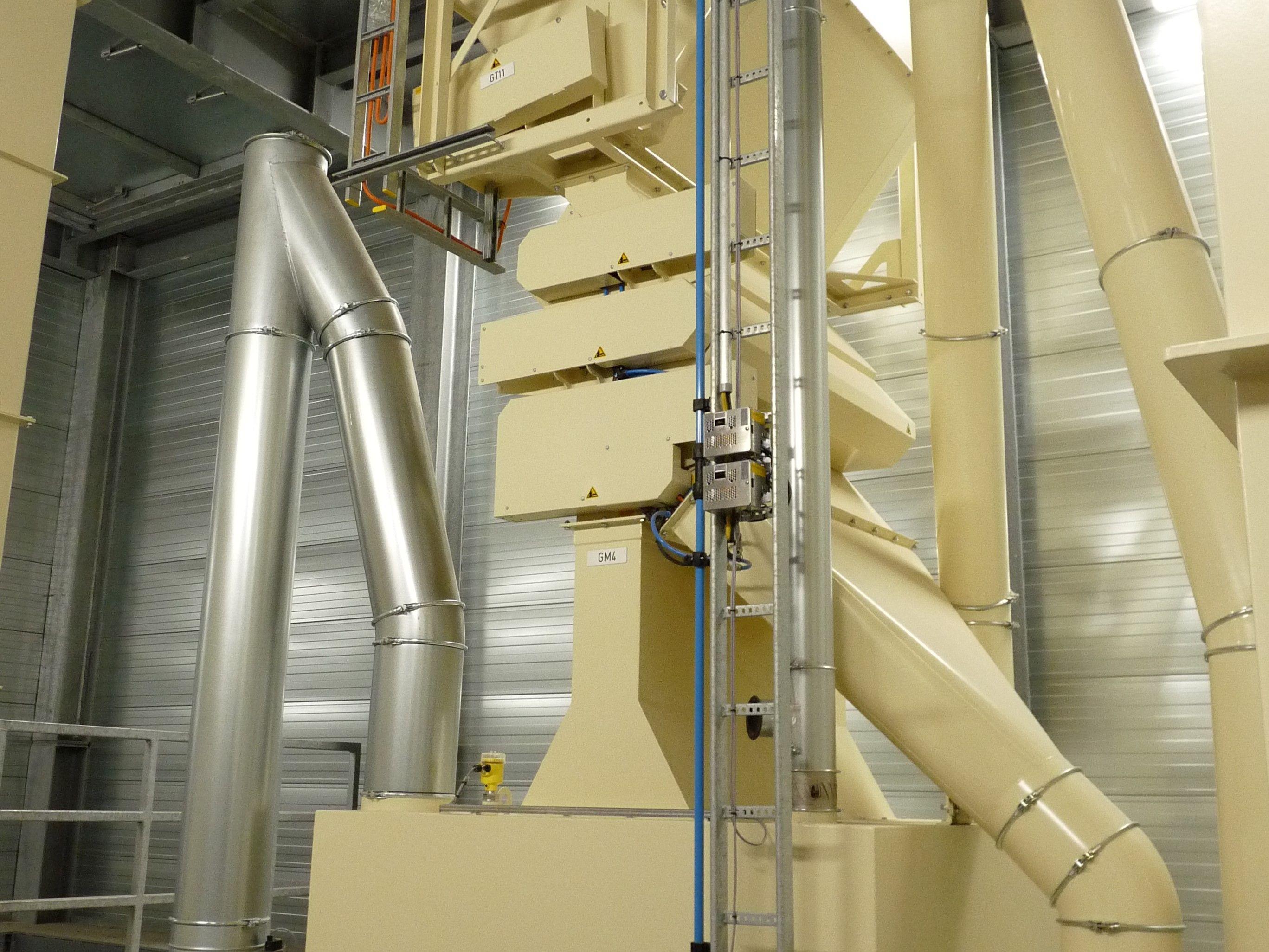 Reinigen en Zeven - Cascade magneet - Poeth Solids Processing - Tegelen