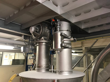 Hopper filter - Food Industry - Poeth Solids Processing - Tegelen