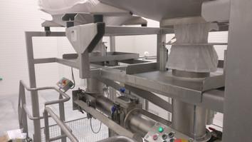 Big-bag losstation met nat reiniging CIP - Food Industry - Poeth Solids Processing - Tegelen