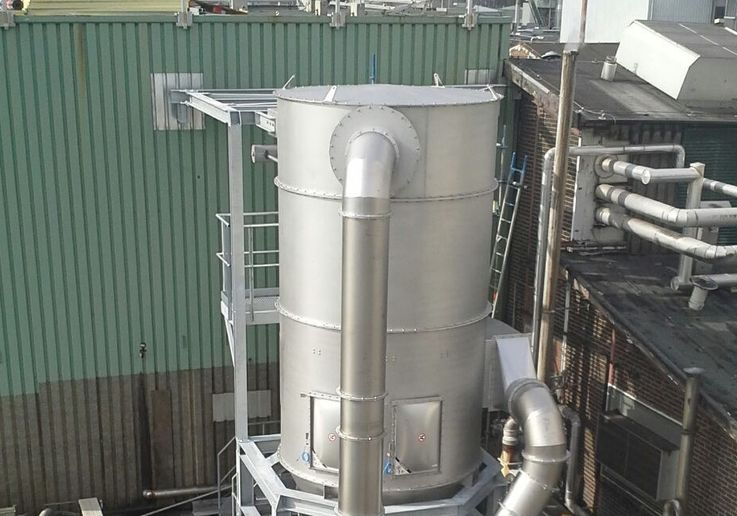 Stof filters - Poeth Solids Processing - Tegelen