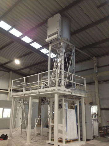 Pneumatisch Transport Zetmeel - Bulk Solids Industrie - Poeth Solids Processing - Tegelen