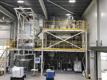 Mixing line - Food Industry - Poeth Solids Processing - Tegelen