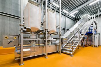 Z-conveyor - Food Industry - Poeth Solids Processing - Tegelen
