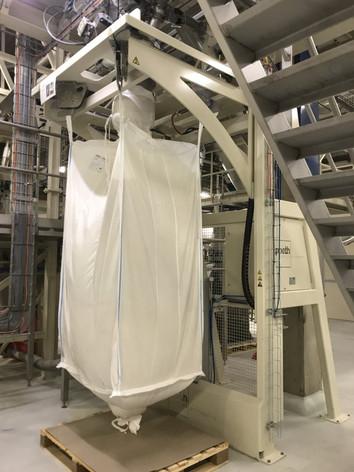 Automatisch lossen big-bag lussen - Food Industry - Poeth Solids Processing - Tegelen