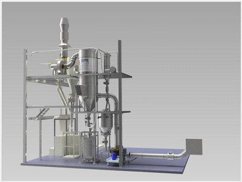Mixing line protein - Food Industry - Poeth Solids Processing - Tegelen