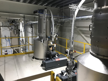 Pneumatic conveying - Food Industry - Poeth Solids Processing - Tegelen