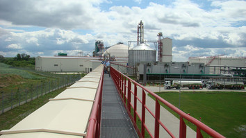 Air Supported Belt Conveyor Malt - Malt Handling / Breweries Industry - Poeth Solids Processing - Tegelen
