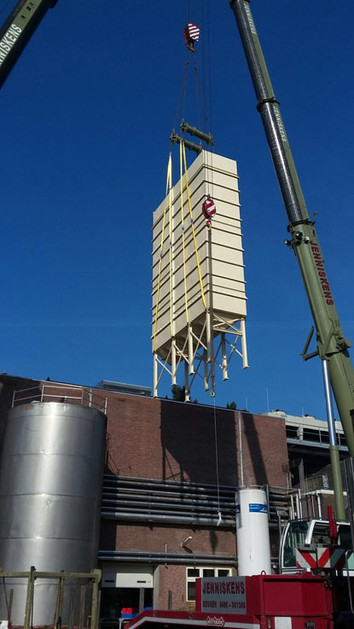 Malt Silos - Malt Handling / Breweries Industry - Poeth Solids Processing - Tegelen