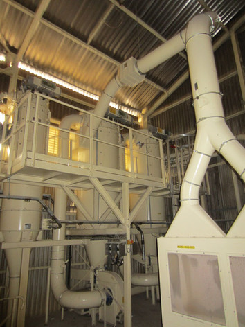 Malt Cleaning - Malt Handling / Breweries Industry - Poeth Solids Processing - Tegelen