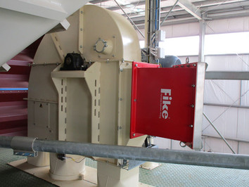 Bucket Elevator ATEX Explosion Proof Flame Asborber - Malt Handling / Breweries Industry - Poeth Solids Processing - Tegelen