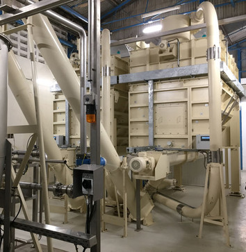Malt Grist Bin - Malt Handling / Breweries Industry - Poeth Solids Processing - Tegelen