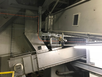 Chain conveyor contamination free - Malt Handling / Breweries Industry - Poeth Solids Processing - Tegelen