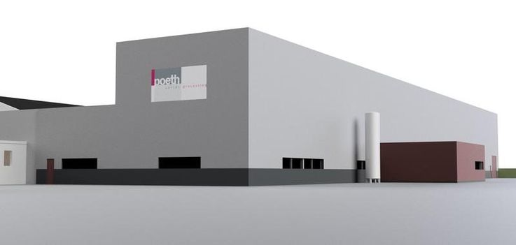 Nieuwbouw Poeth Solids Processing