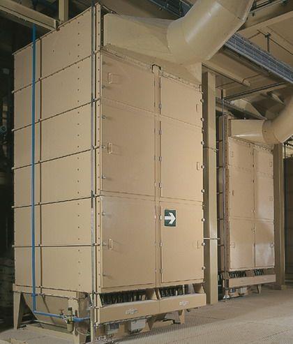 Dustfilters - Cased-unit Filter - Poeth Solids Processing - Tegelen