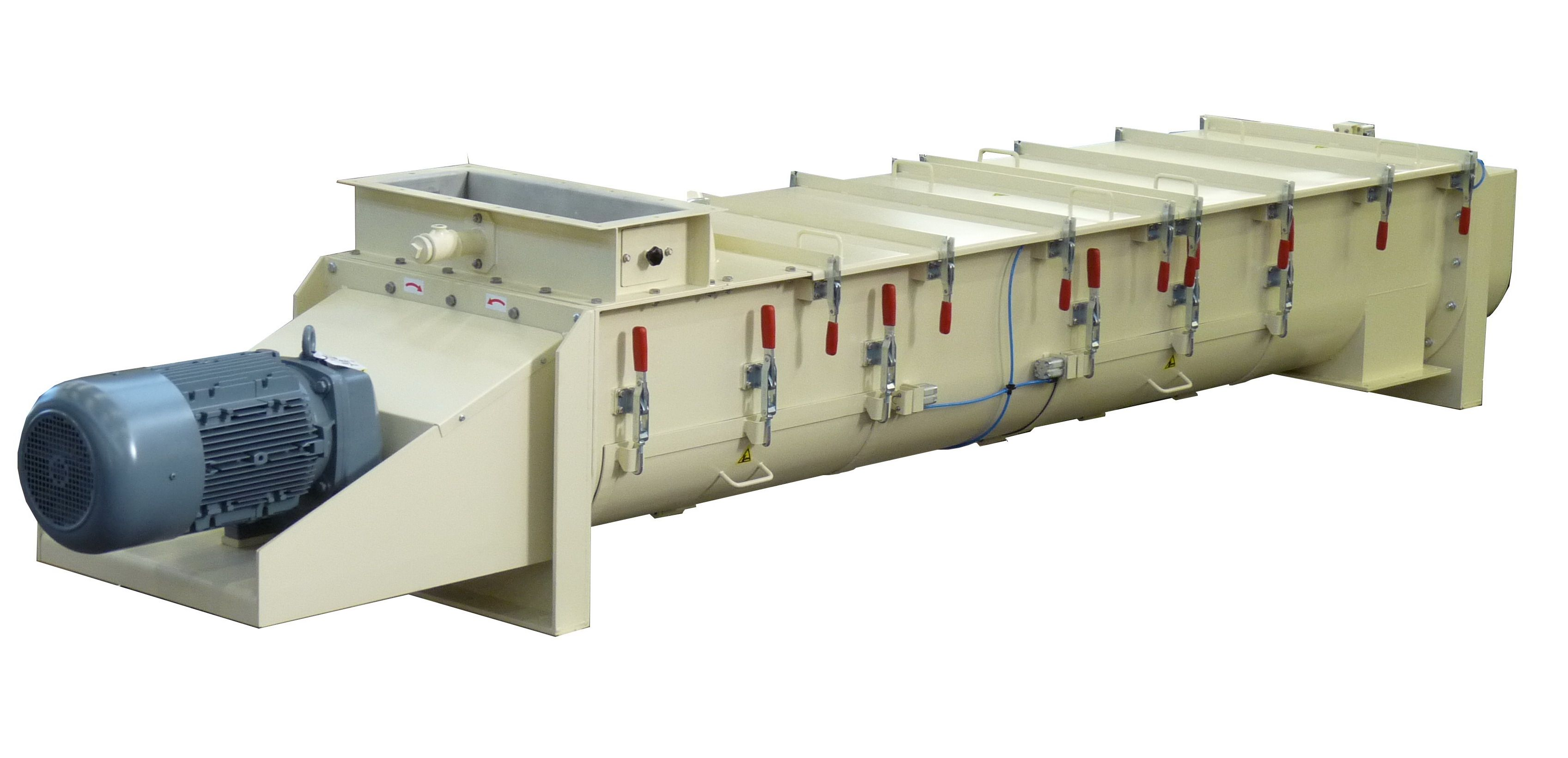 Mixing  - Continuous Mixer - Poeth Solids Processing - Tegelen