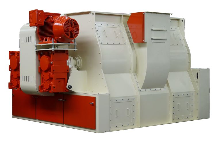 Mixing  - Twin-shaft Paddle Mixer - Poeth Solids Processing - Tegelen