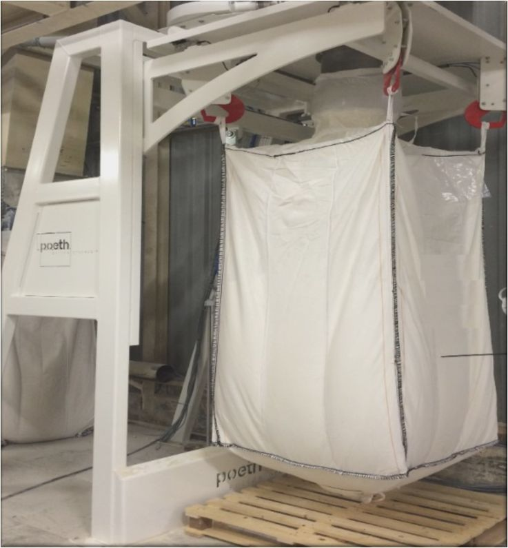 Products Intake and Storage - Big-Bag Filling - Poeth Solids Processing - Tegelen