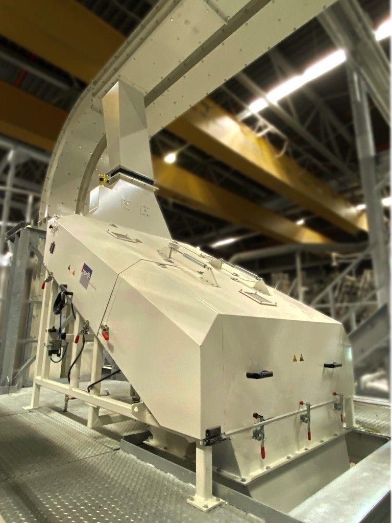 Hoog-frequent zeefmachine - Poeth Solids Processing - Tegelen, Nederland